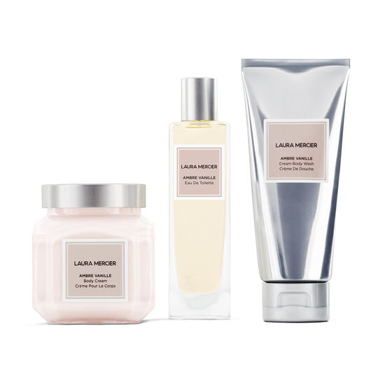 LUXE INDULGENCE AMBRE VANILLE BODY TRIPLET,