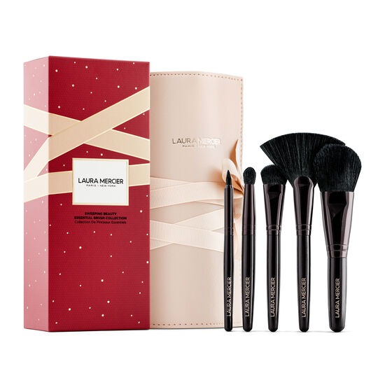SWEEPING BEAUTY ESSENTIAL BRUSH COLLECTION,